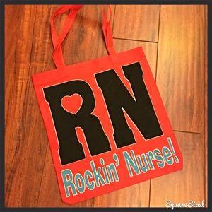 Handbags - NWT Registered Nurse Tote